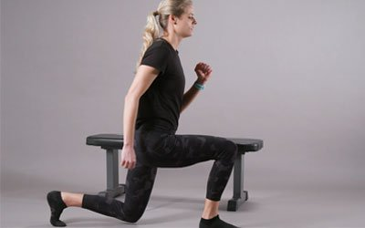 Walking on Toes, Ball of feet, and Lunges